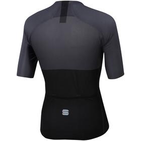 Sportful Bodyfit Pro Light Maillot de cyclisme Homme, black anthracite